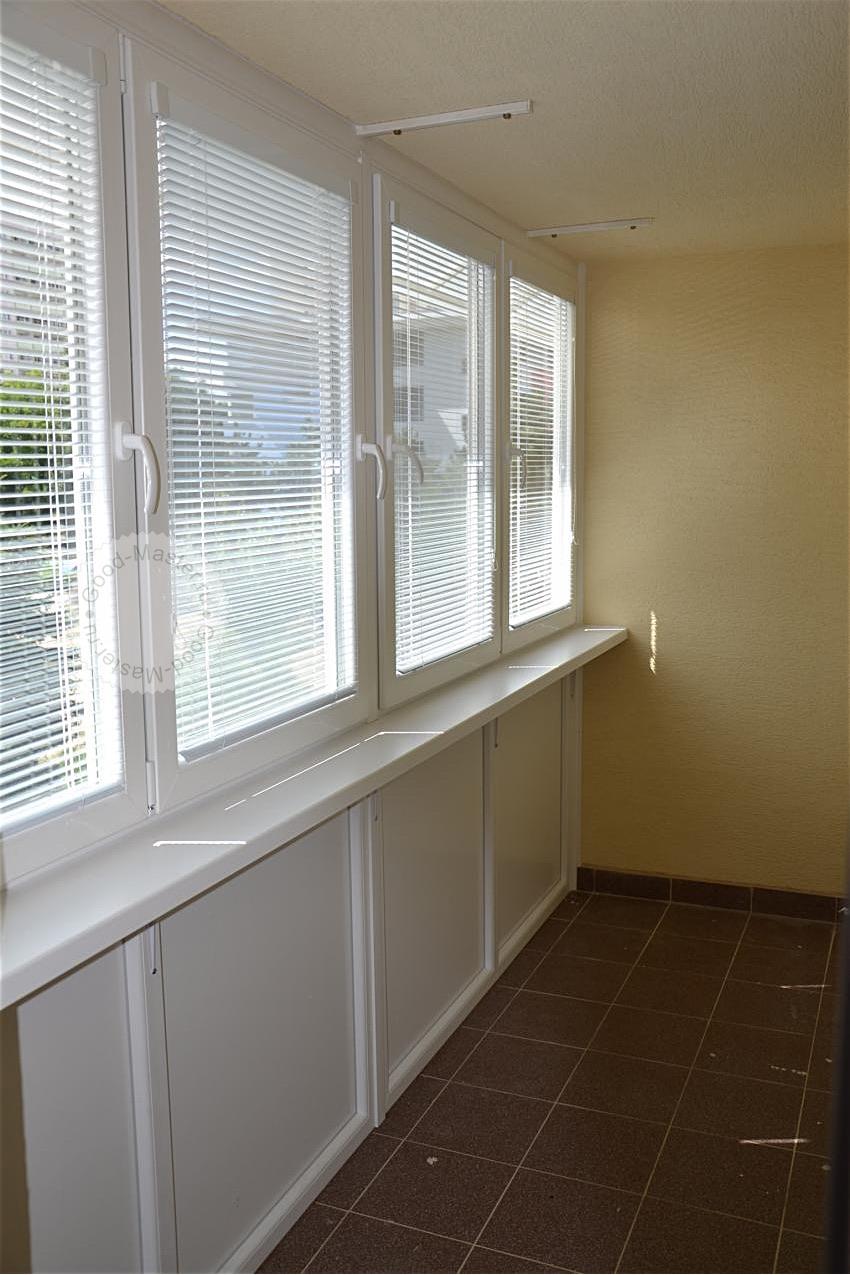 Какие жалюзи лучше подойдут для балкона и лоджии. фото на са.